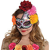 Day of the Dead Sugar Skull Mask