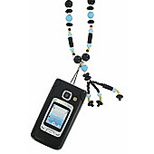 Necklace Phone Holder Lanyard Artificial Pearl