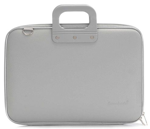Bombata Classic Grey 15 inch Laptop Bag
