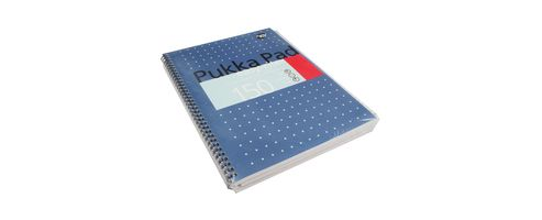 Pukka Pad Easy-riter Metallic A4 Writing Pad 80gsm ERM009