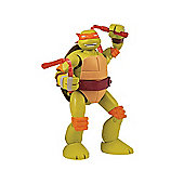 Teenage Mutant Ninja Turtles Mutations Deluxe Pet to Turtles Michelangelo Figure