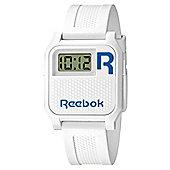 Reebok Vintage Nerd Unisex Silicone Alarm Stopwatch Watch RC-VNE-U9-PWPW-WL