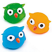 Squeezy Light Up Owls (Pack of 4)
