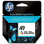 HP 49 Large Tri-color Inkjet Print Cartridge
