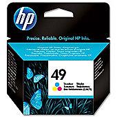 HP 49 Large Inkjet Print Cartridge - Tri-Colour