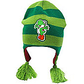Nintendo Super Mario Bros Yoshi Beanie, Green - Accessories