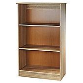Welcome Furniture Living Room Bookcase - VVanilla/Cocobola