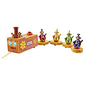 Teletubbies Pull-Along Custard Train (with Light & Sound) Playset