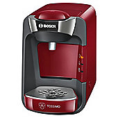 BOSCH Tassimo Suny TAS3203GB Hot Drinks Pod Machine, Red
