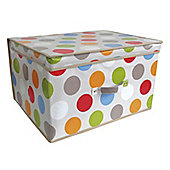 Country Club Jumbo Storage Chest, Havana Spot, 50 x 40 x 30cm