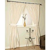 Como Ready Made Lined Curtains - Ivory