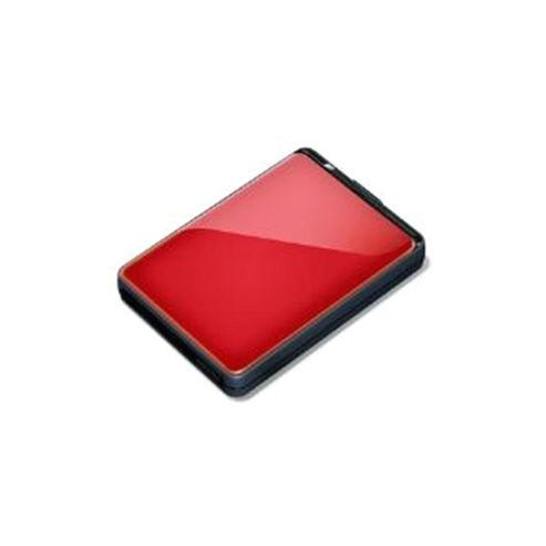 Buffalo MiniStation Extreme (1TB) USB 3.0 Slim 2.5 inch Portable Hard Disk Drive (Red)