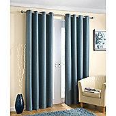 Enhanced Living Wetherby Eyelet Aqua Curtains 168X183cm