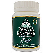 Bio Health Papaya Enzymes 60 Veg Capsules