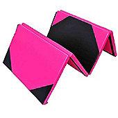 Homcom Folding Yoga Foam Floor Mats Gym Fitness