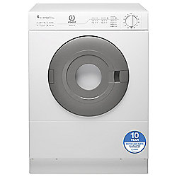 Indesit Tumble Dryer, IS41V, 4KG Load, White
