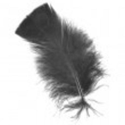 Feather Petals - Black