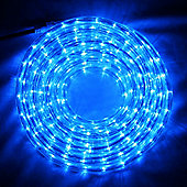 8m Blue LED Rope Light