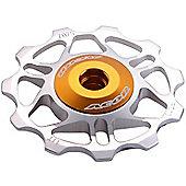 Acor Super Light Alloy Jockey Wheel: Silver.