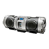 JVC RV-BN70 Powered Woofer CD System (Silver)