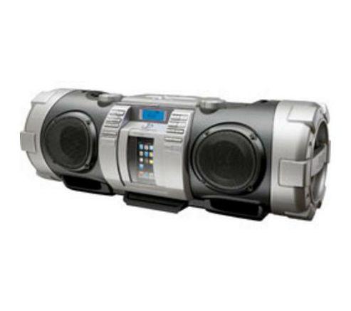 JVC RV-BN70 Powered Woofer CD System-Silver