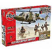 Hornby Airfix Kit British Forces Helicopter Support
