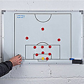 Precision Training Football Tactics Board Double-Sided Board 60 X 90Cm