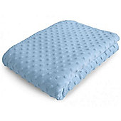 Baroo Luxury Bubble Pram Blanket (Blue)