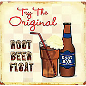 Root Beer Float Try the Original! Tin Sign