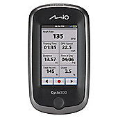 Mio Cyclo 300 GPS Bicycle Navigation Computer with UK + Ireland Maps