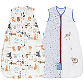 Grobag 2.5 Twin Pack - Little Champs & Alphapets (18-36 Months)