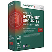 Kaspersky Internet Security 2015 Multi Device 3 User 1 Year DVD Box