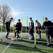 Precision Training Boundary Poles - Yellow