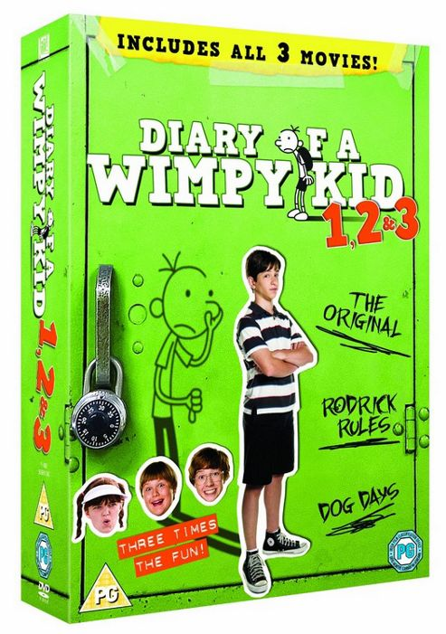 Diary Of A Wimpy Kid: 1, 2 & 3 (DVD Boxset)