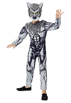 F&F Halloween Werewolf Dress-Up Costume - Grey