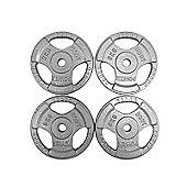 Body Power Standard TRI GRIP Discs 5Kg (x4)