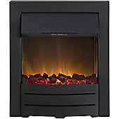 Adam Colorado Black Electric Inset Fire