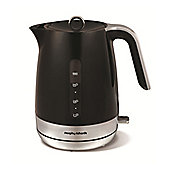 101402 Chroma Plastic 1.5L Cordless Jug Kettle in Black