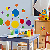 Childrens Wall Stickers - Primary Dots