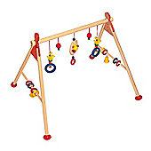 Heimess 737434 Wooden Baby Gym (Duck)