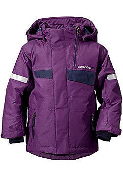 Didriksons Izusa Kids Ski Jacket - Amaranth - Purple