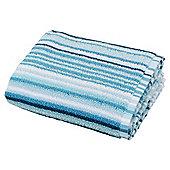Teal Stripe Hand Towel