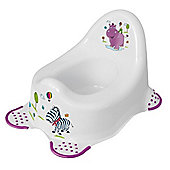 Hippo Baby Steady Potty White