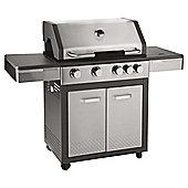 Premium 4 Burner Gas BBQ with side burner