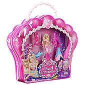 Barbie The Pearl Princess Small Doll Furniture Set - Dolls and Playsets