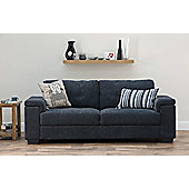 All Home Harlow 3 Seater Sofa - Grey