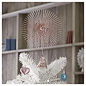 TESCO PINK TREE TOPPER WITH GEM