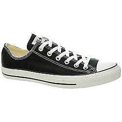 Converse All Star Ox Black/White Shoe M9166