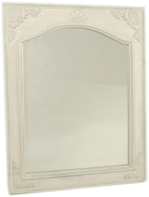 Papa Theo Medici Mirror - Antique White