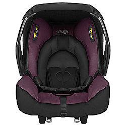 Graco Junior Group 0+ Car Seat, Plum